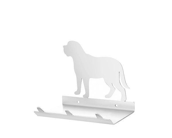 Mastiff Keys Rack with Sunglasses Tray - 3 Hooks - Stainless Steel - Buy Steel Products Online