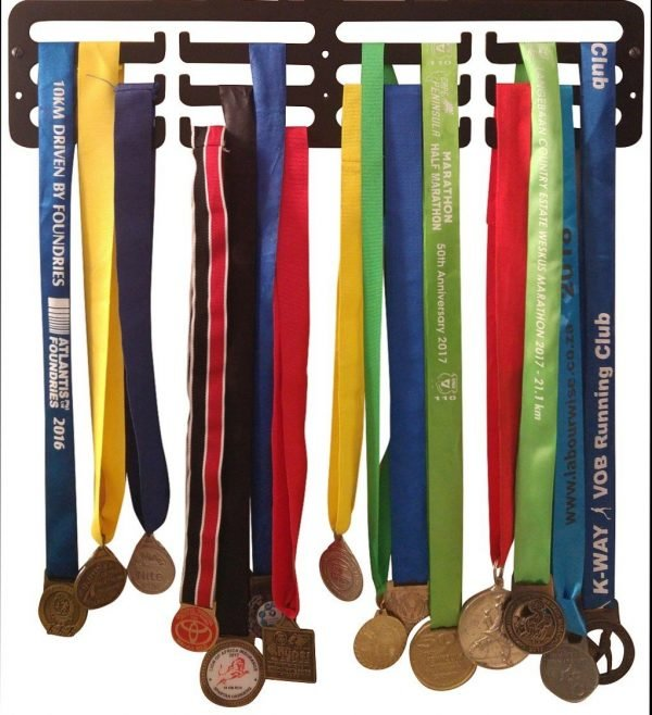 Medal Holder for Male Runners - Black - Buy Steel Products Online