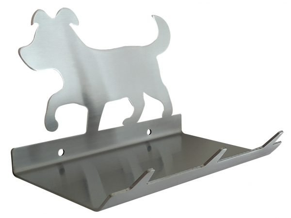 Puppy Keys Rack with Sunglasses Tray - 3 Hooks - Stainless Steel - Buy Steel Products Online