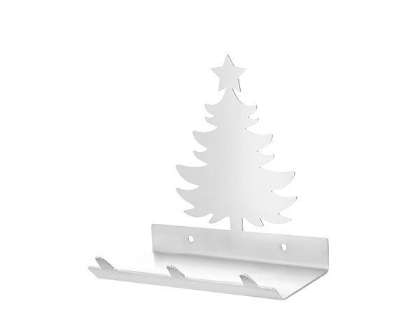 Christmas Tree Keys Rack with Sunglasses Tray - 3 Hooks - Stainless Steel - Buy Steel Products Online