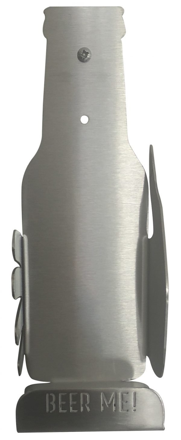 Beer Bottle or Glass Holder - Stainless Steel - Buy Steel Products Online